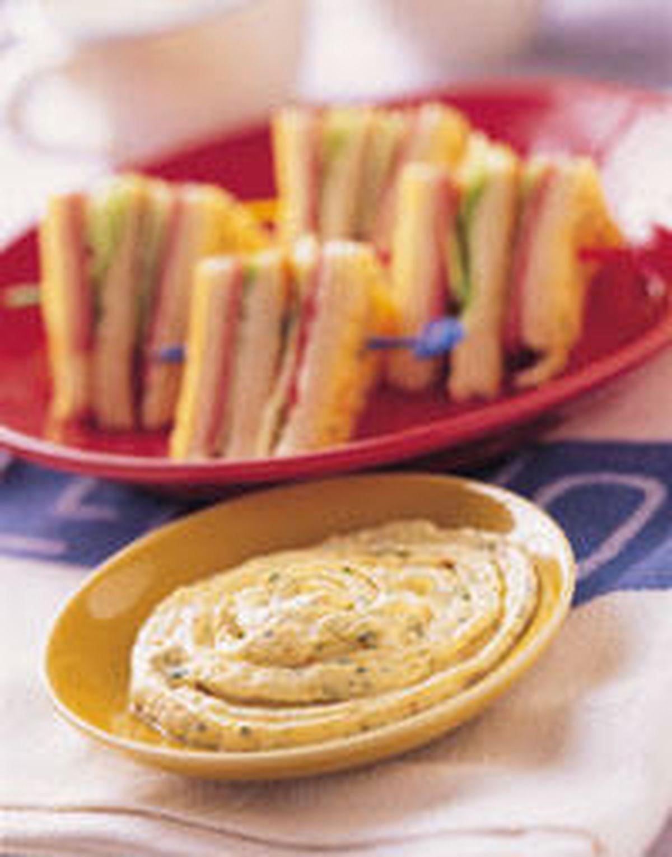 食譜:總匯三明治
