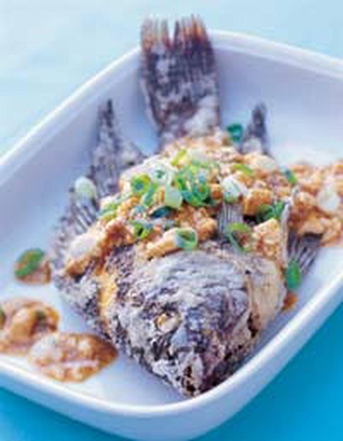 食譜:麻婆豆腐魚