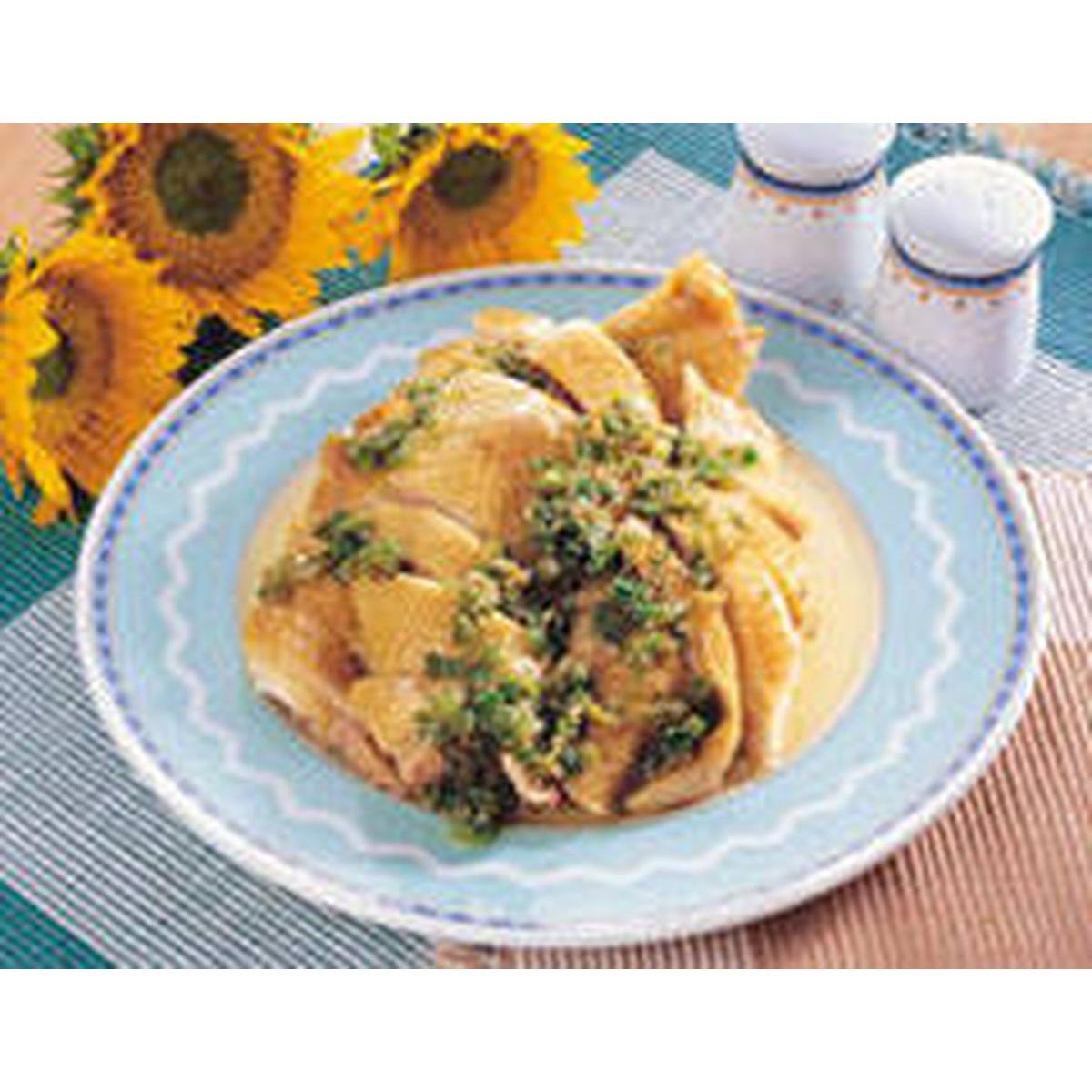 食譜:廣東鹽雞