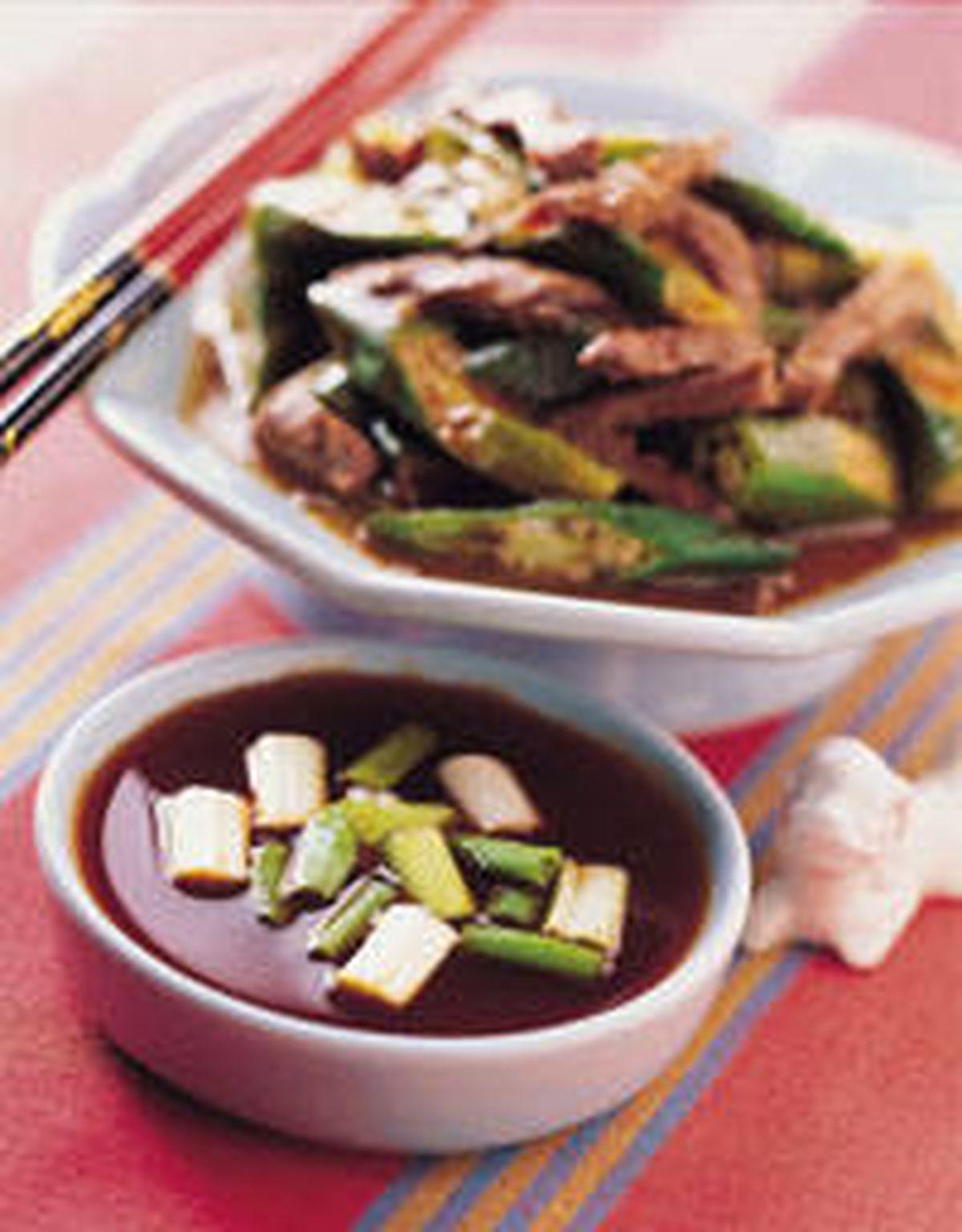 食譜:秋葵炒牛肉