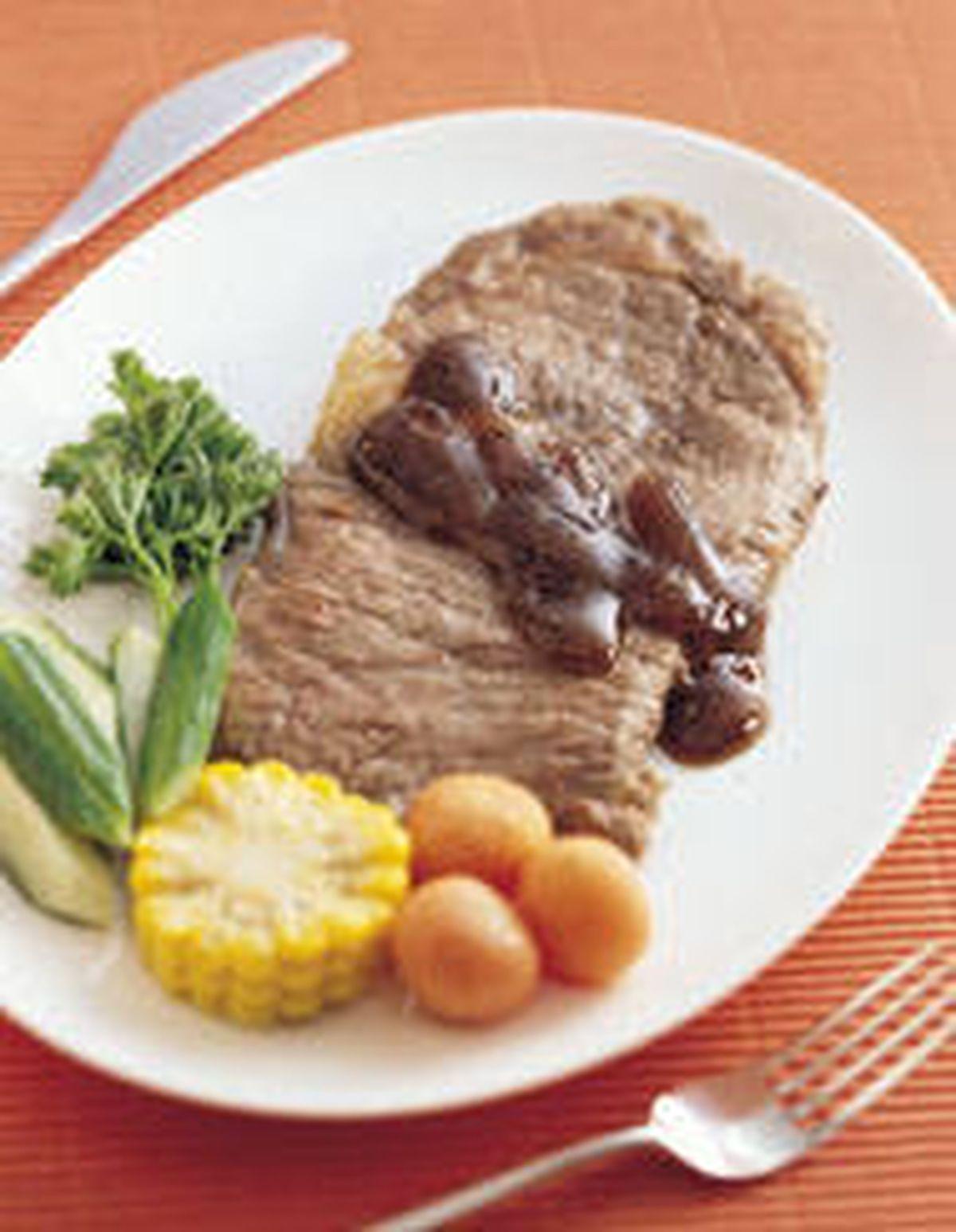 食譜:黑胡椒牛排(2)