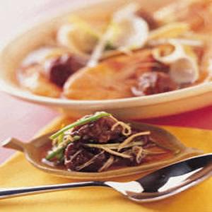 梅子海鮮湯