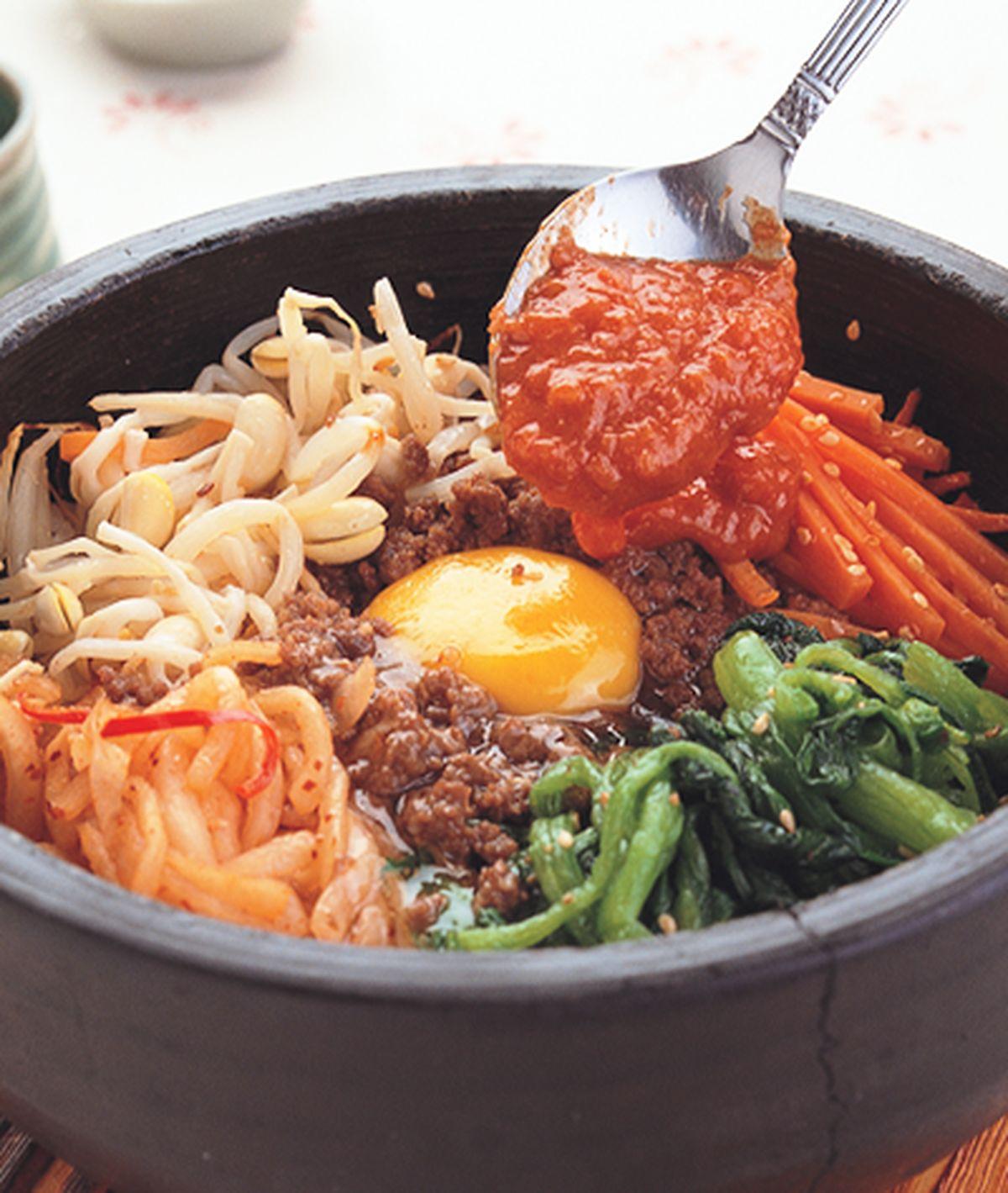 食譜:石鍋拌飯(1)