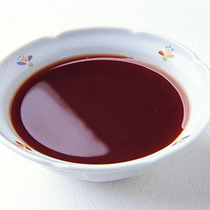 紅酒巧克力梨調味汁