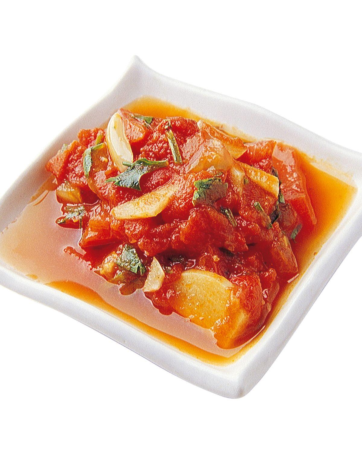 食譜:番茄薄荷蒜醬