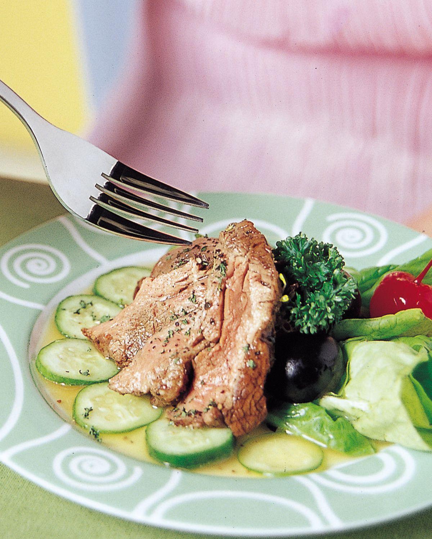 食譜:冷牛肉沙拉