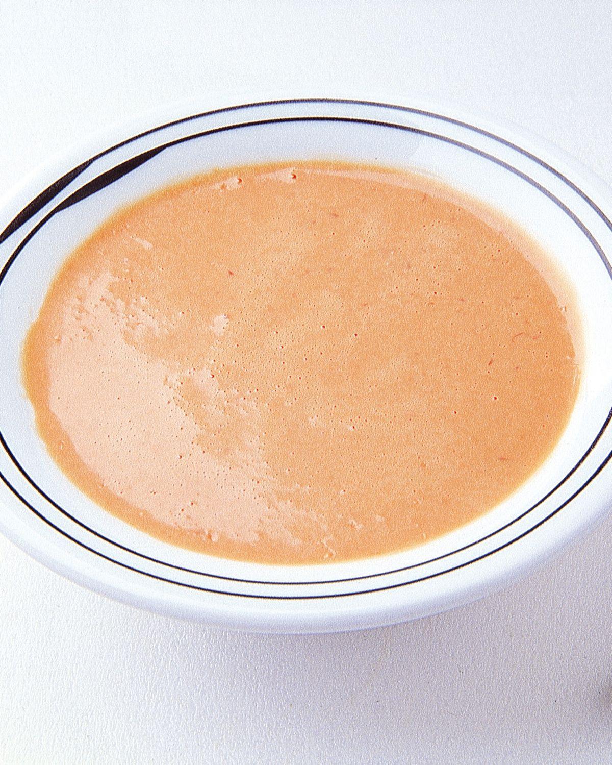 食譜:紅甜椒醬汁