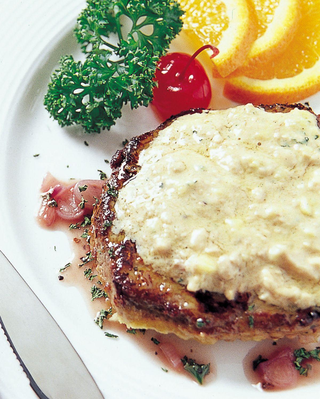 食譜:鵝肝醬牛排