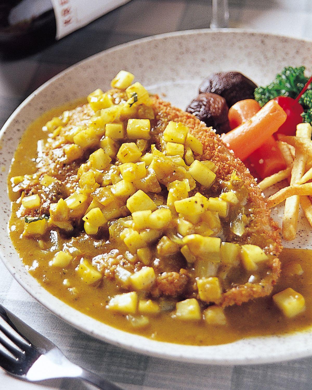 食譜:蘋果咖哩鯛魚排