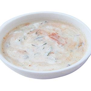 奶油羅勒醬汁