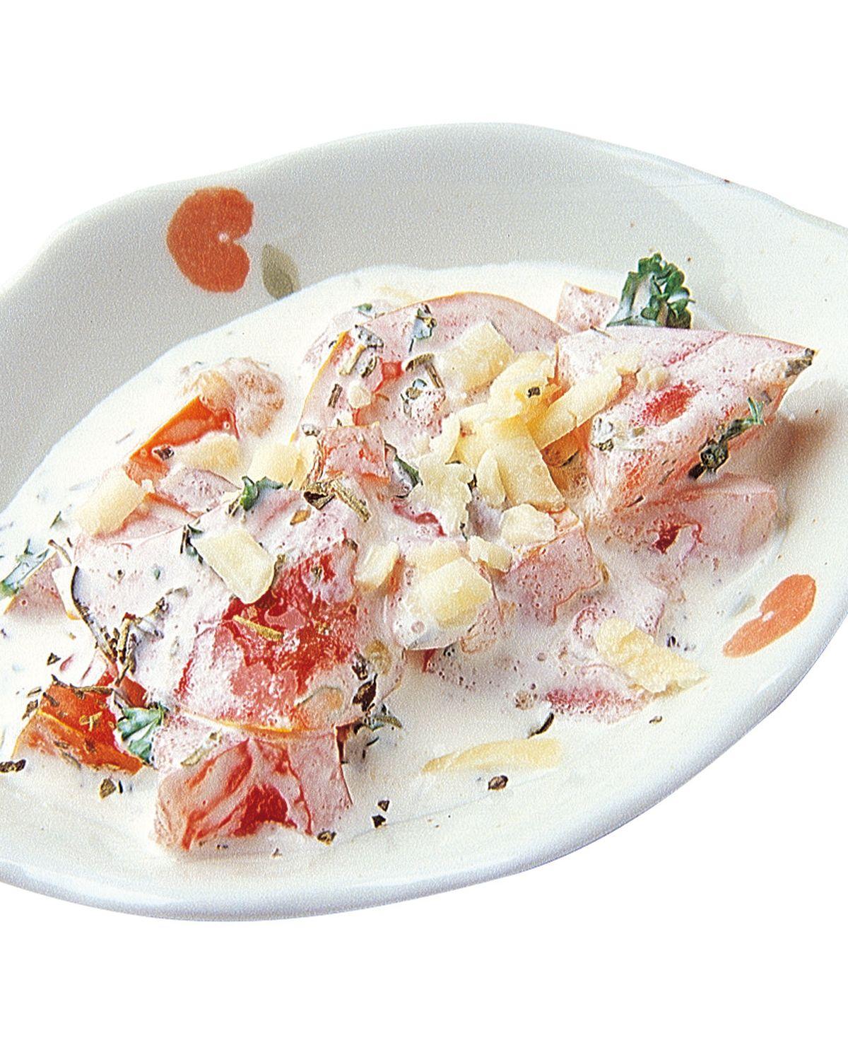 食譜:鮪魚焗乳酪麵卷調味汁