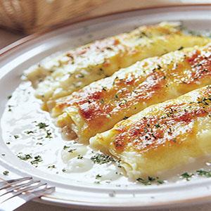 鮪魚焗乳酪麵卷