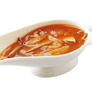 鮑魚菇番茄醬汁
