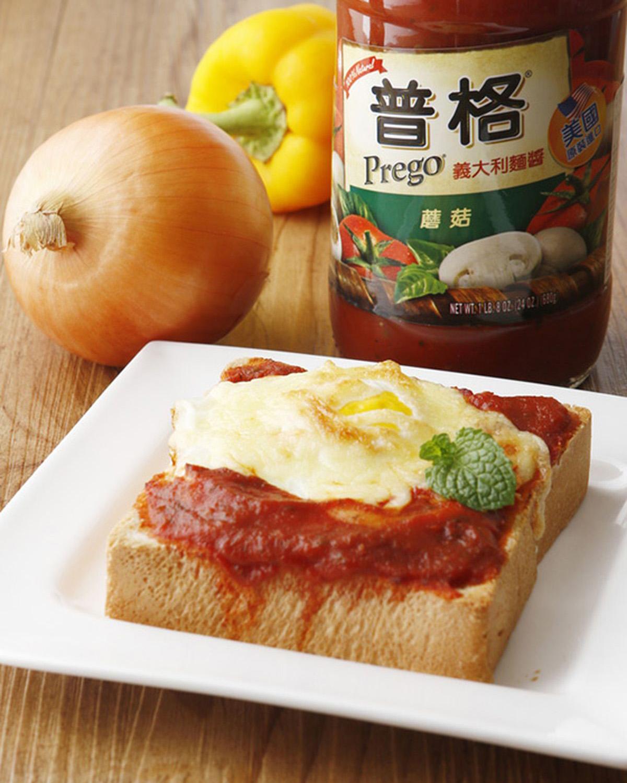 食譜:焗烤番茄蛋厚吐司