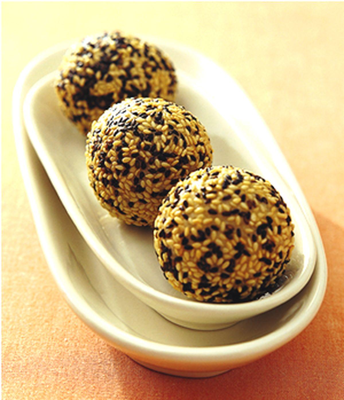 食譜:糯米芝麻球