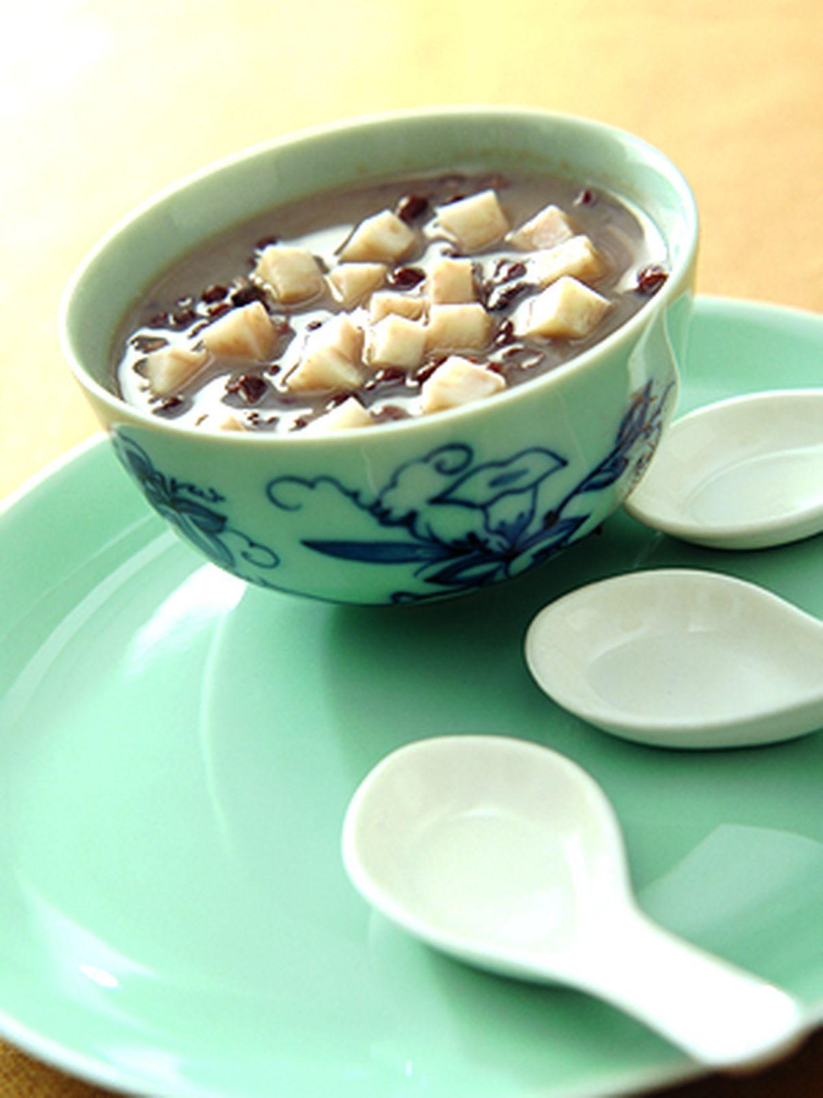 食譜:芋香紅豆沙