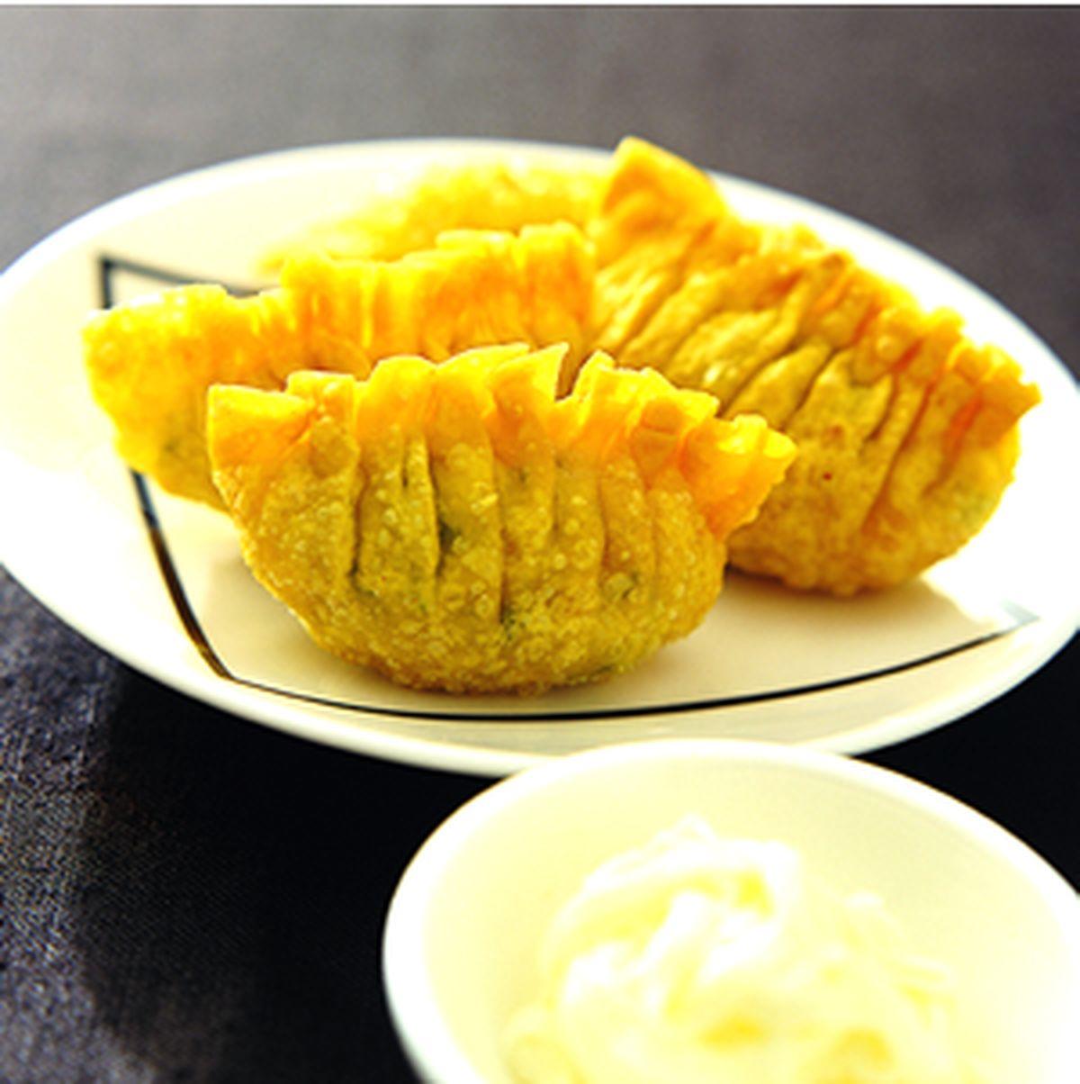 食譜:沙拉海鮮餃
