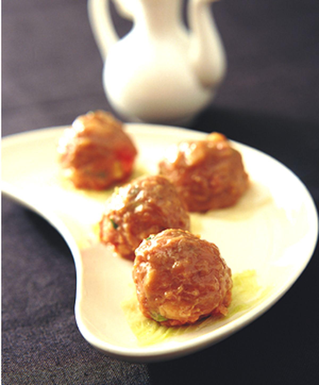 食譜:時菜牛肉球(2)