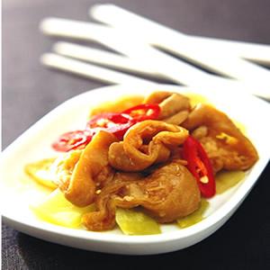 酸菜蒸大腸