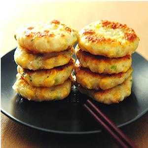 花枝玉米餅