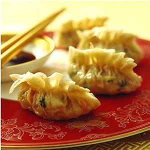 香菇魚翅餃