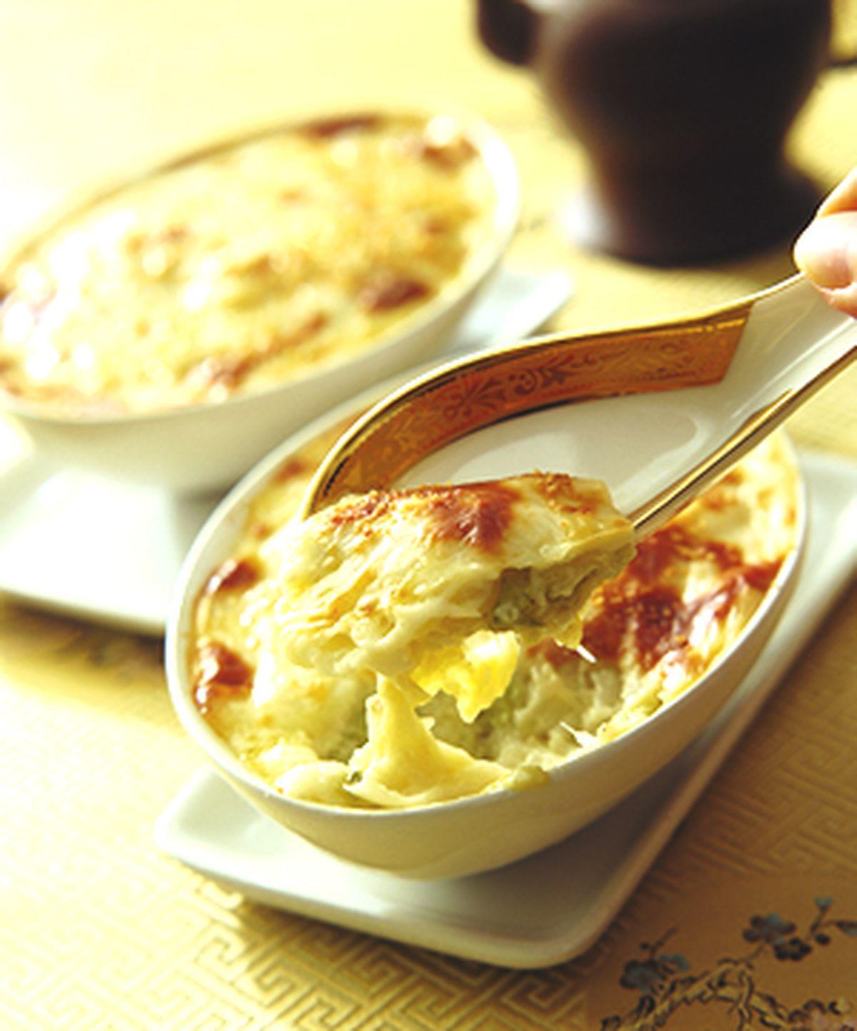 食譜:奶油烤白菜