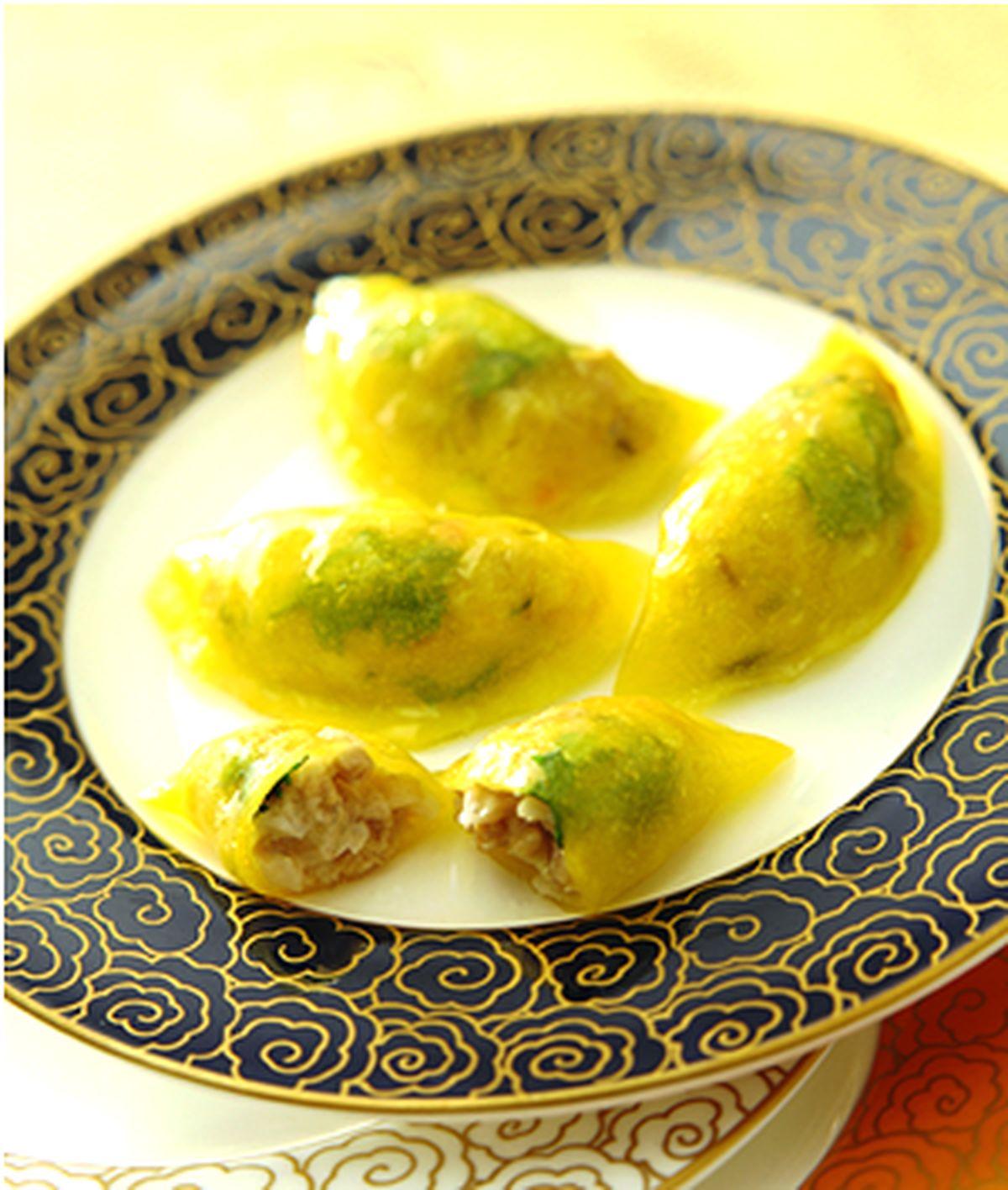 食譜:鮑魚雞粒餃