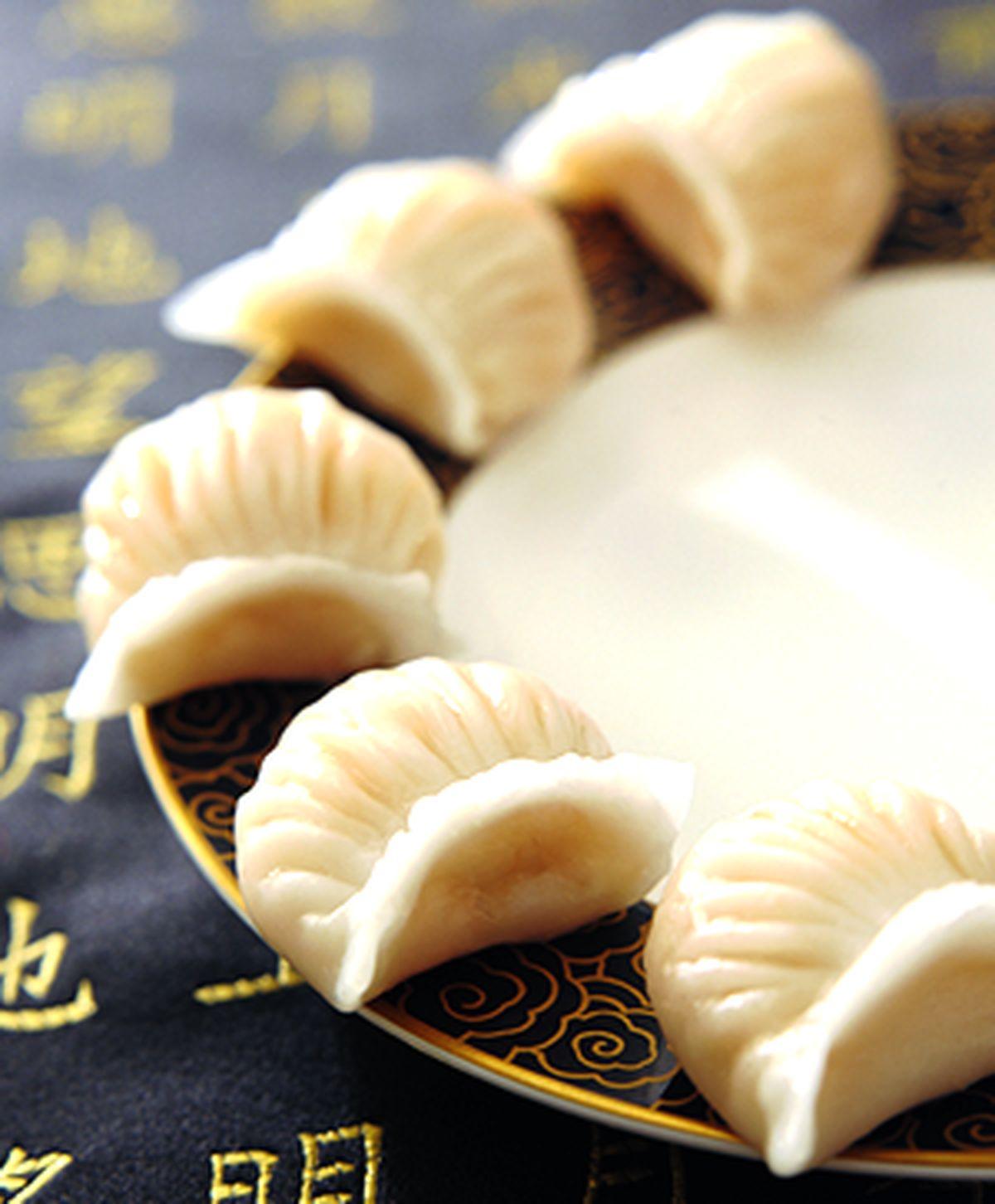 食譜:翡翠鮮蝦餃