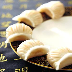 翡翠鮮蝦餃