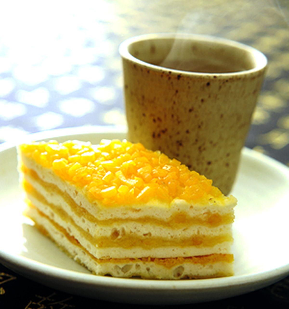 食譜:蛋黃千層糕
