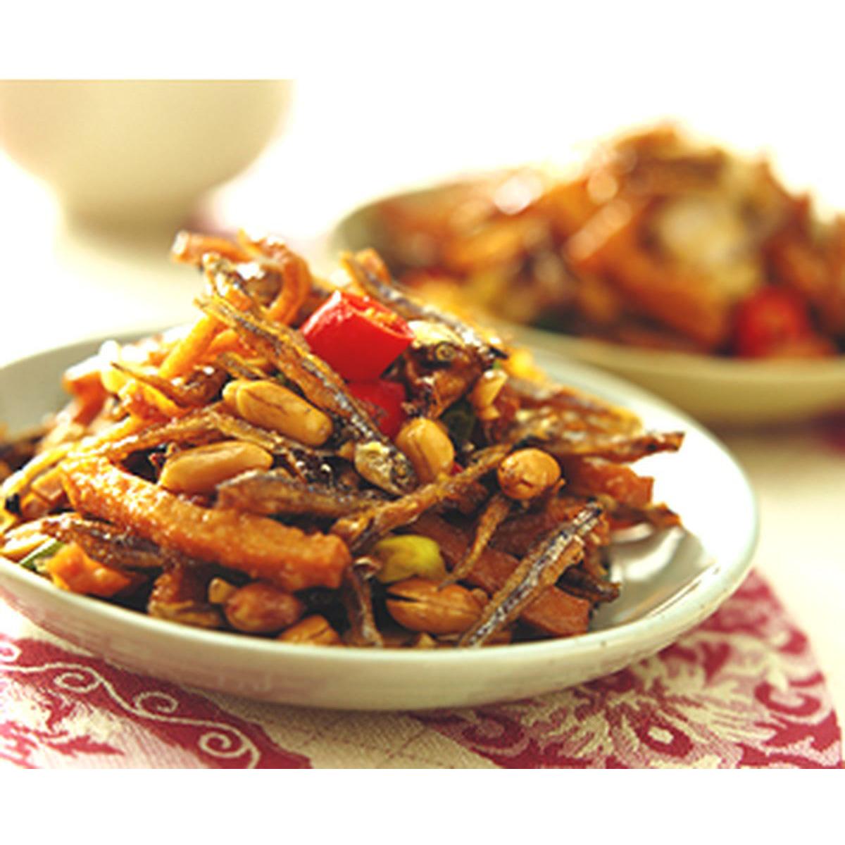 食譜:京都丁香魚