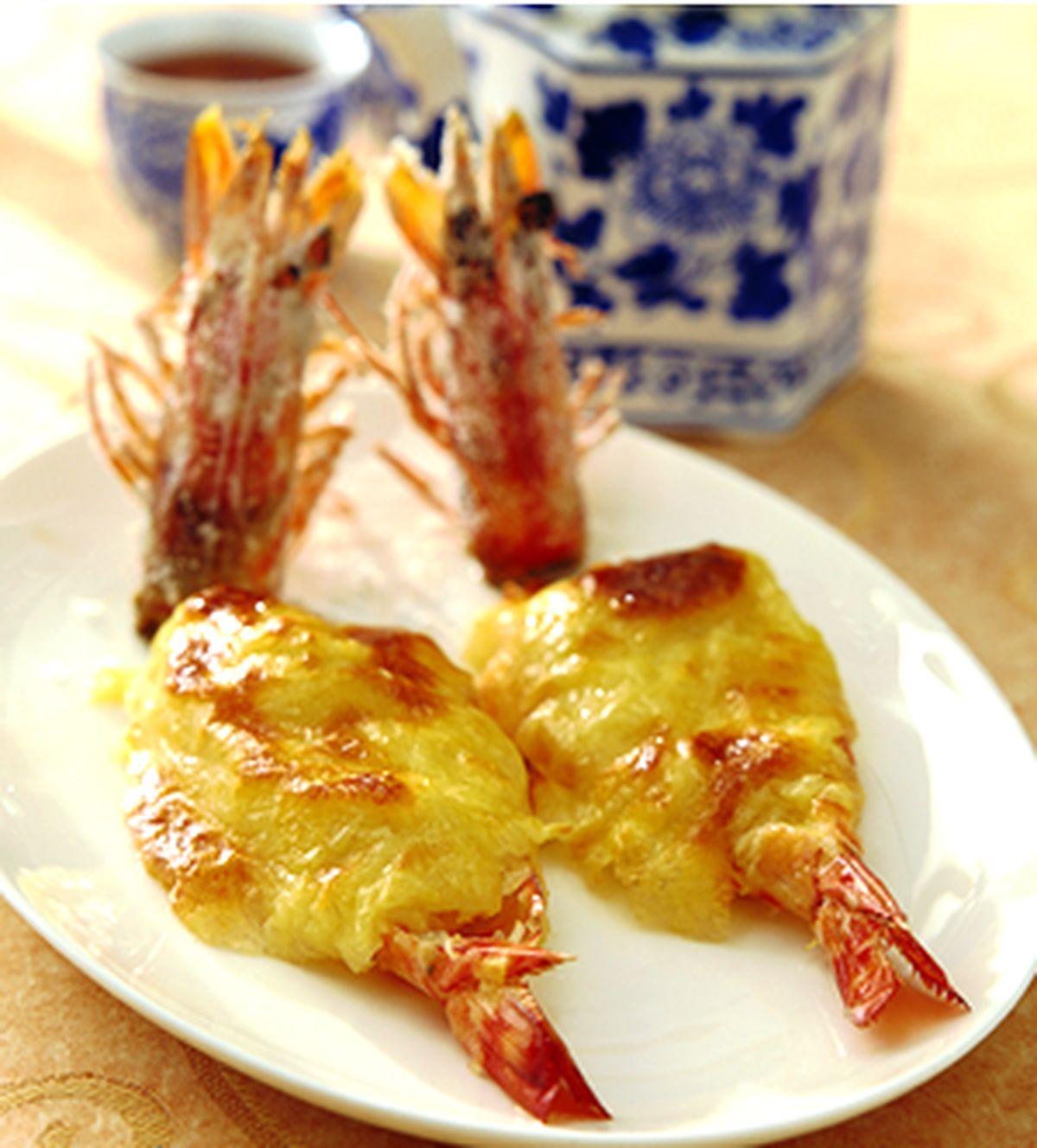 食譜:榴槤富貴蝦