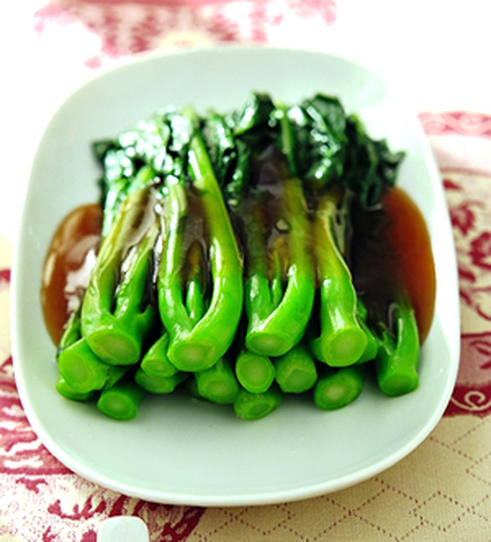 食譜:蠔油炒芥蘭