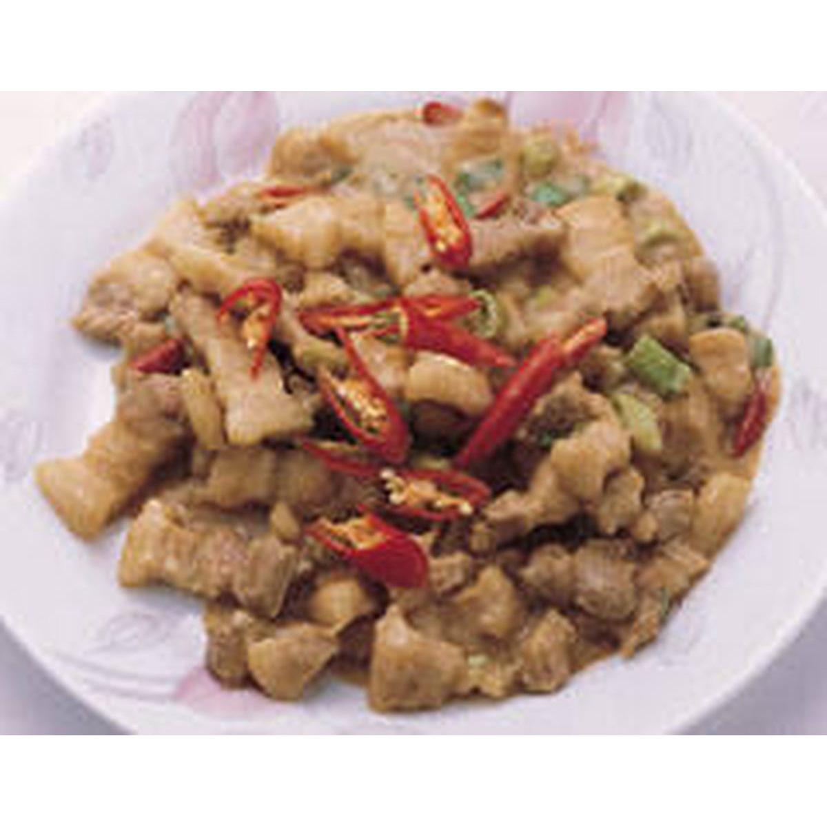 食譜:味噌肉