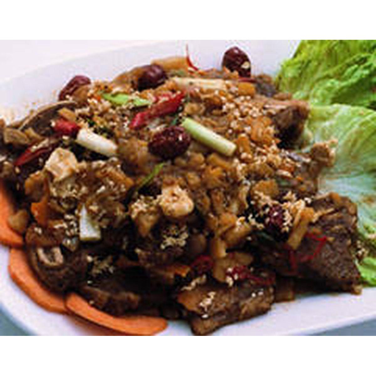 食譜:韓式紅燒牛小排