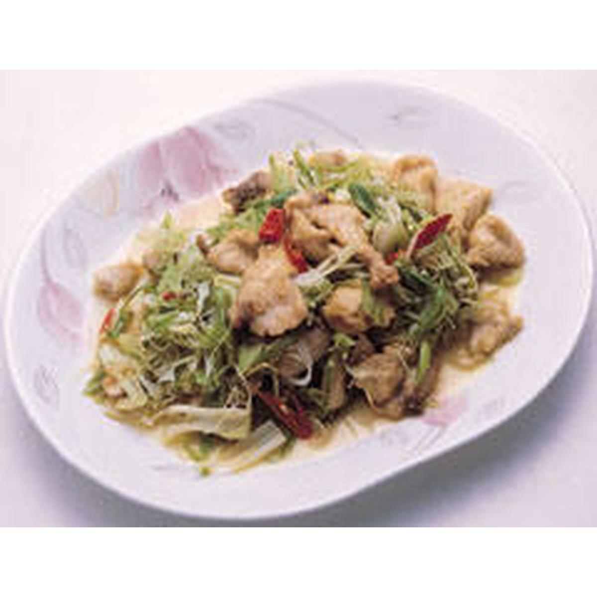 食譜:大蒜炒鯊魚