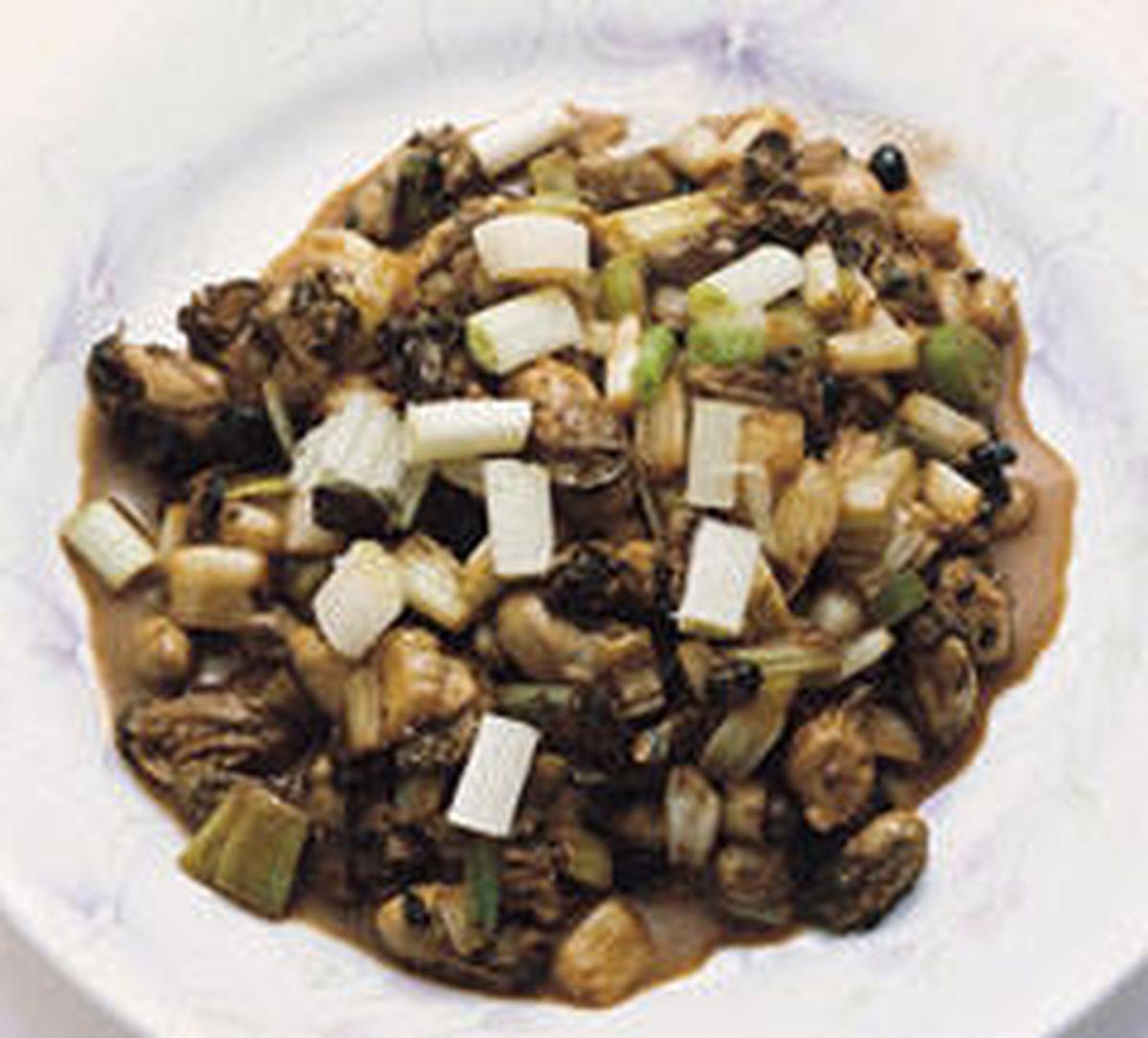 食譜:豆豉蚵