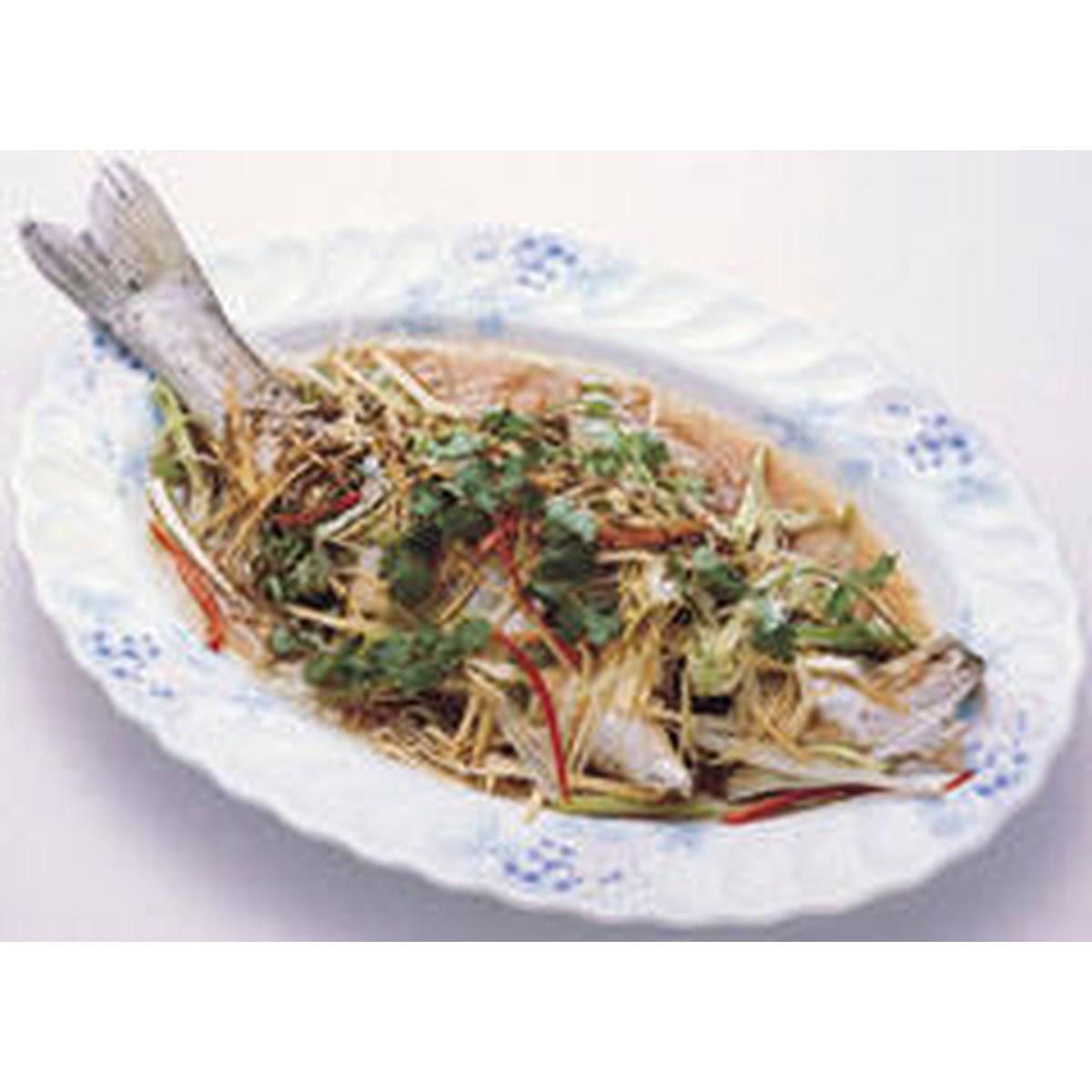 食譜:蔥燜鱸魚