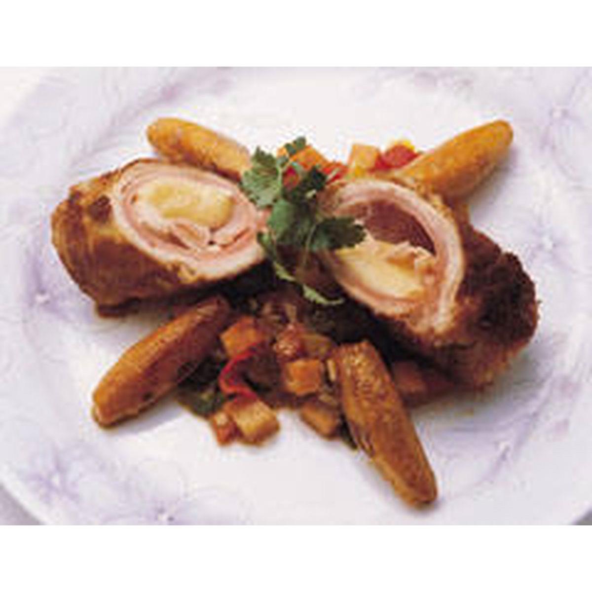 食譜:雞肉起司卷