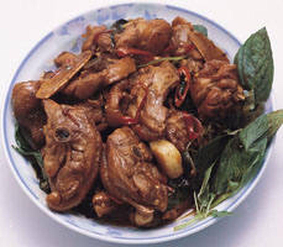 食譜:三杯雞(2)