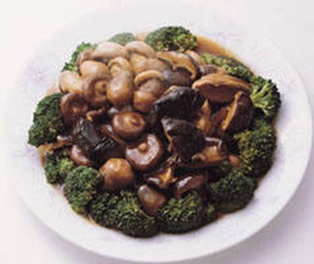 食譜:三菇獻壽