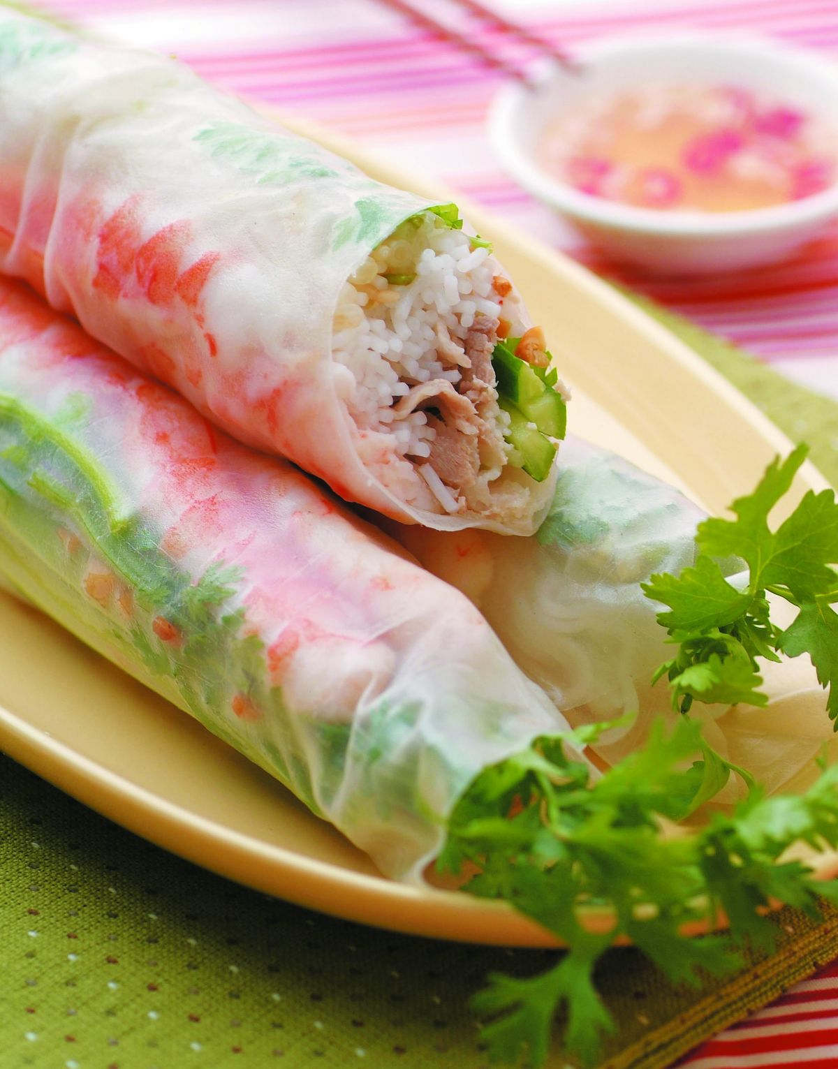 食譜:越式沙拉春捲