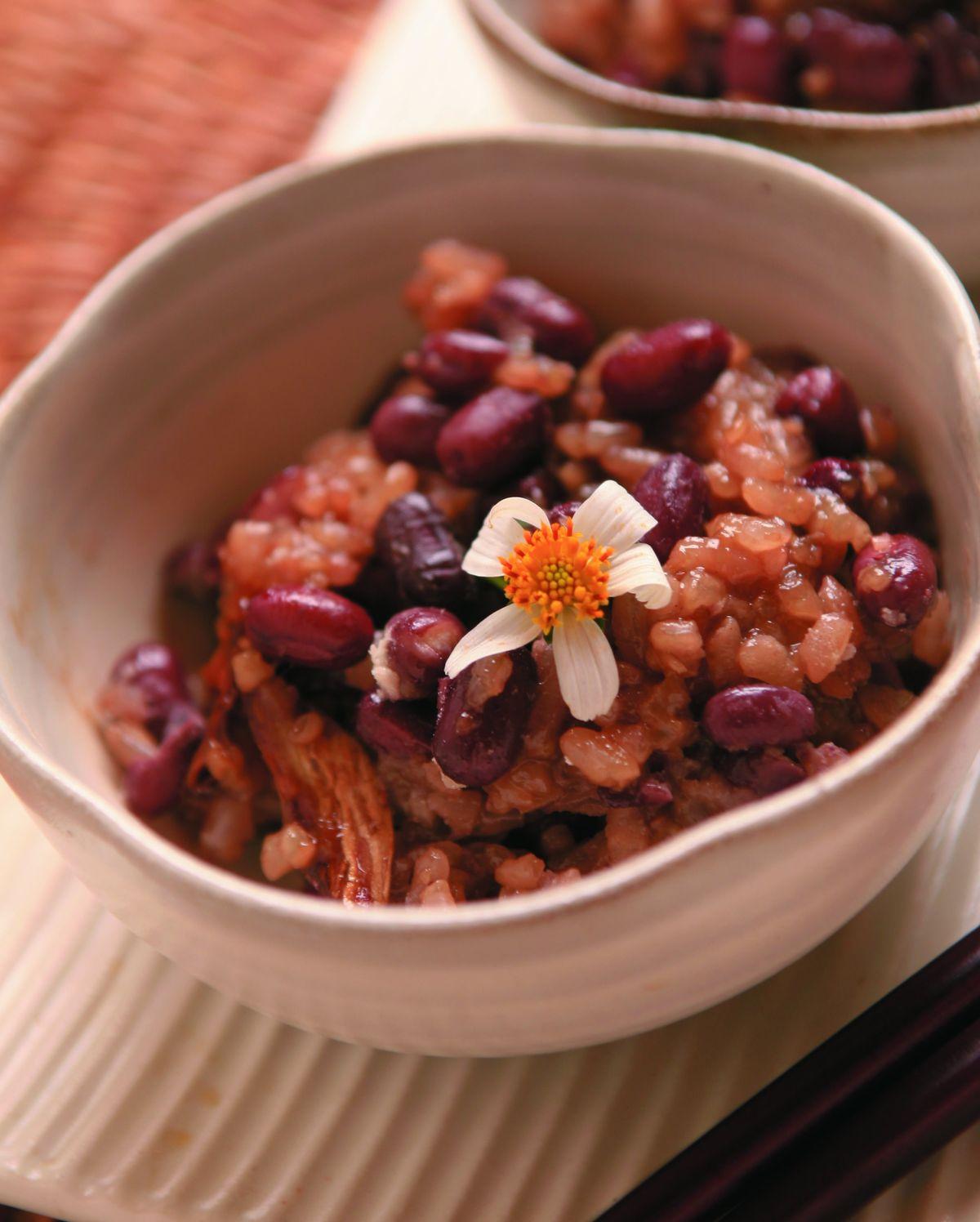 食譜:利水紅豆飯