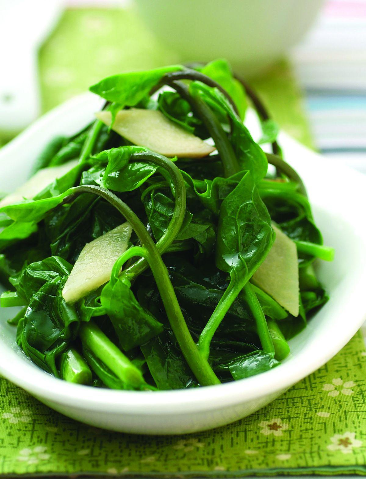 食譜:清炒皇宮菜