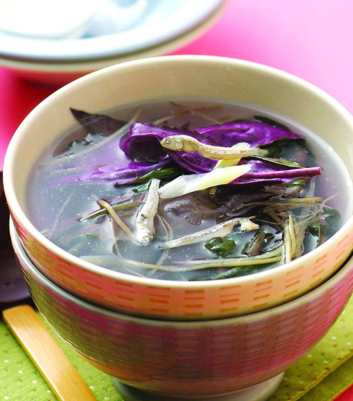 食譜:紅鳳菜丁香湯