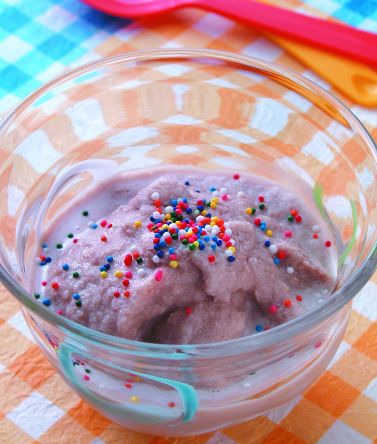 食譜:巧克力冰淇淋(1)