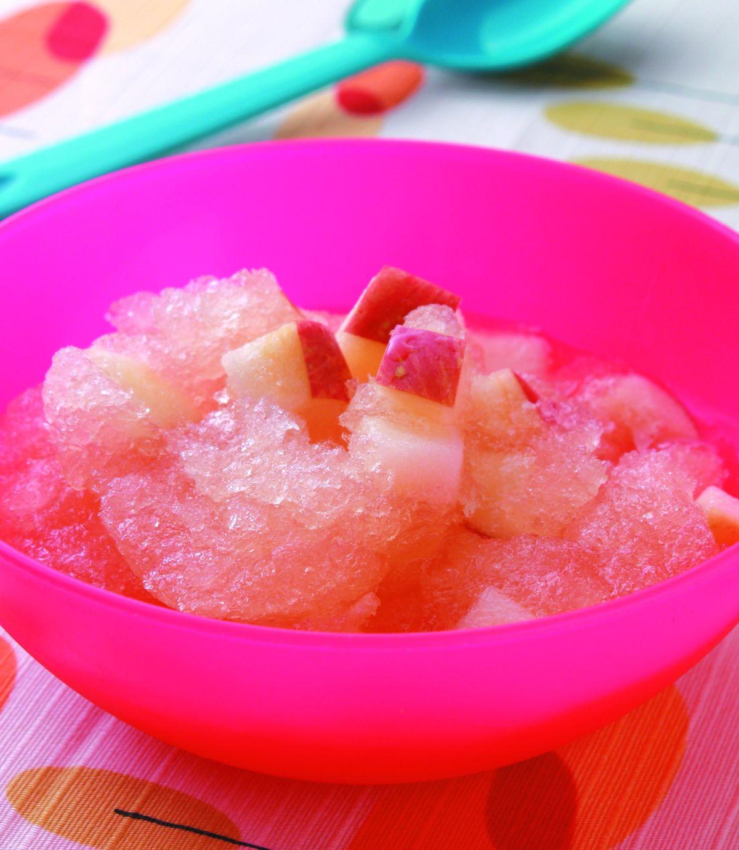 食譜:蘋果果露冰