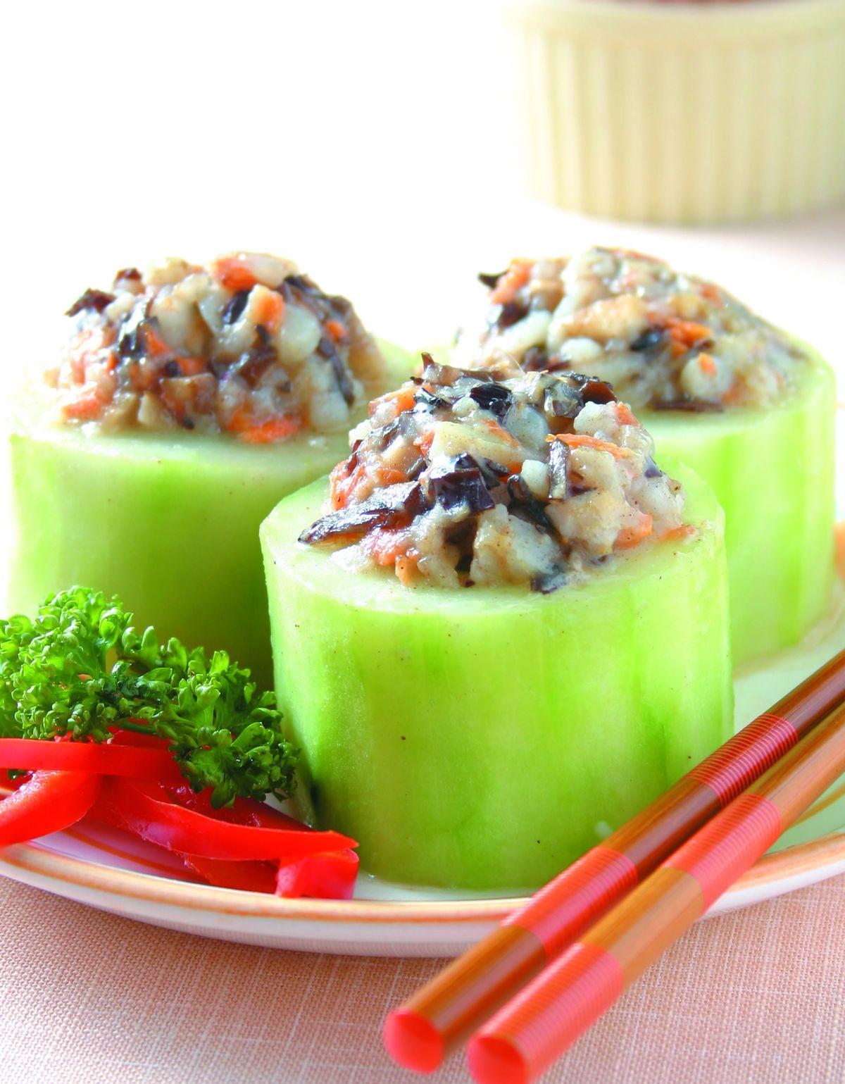 食譜:馬鈴薯黃瓜盅