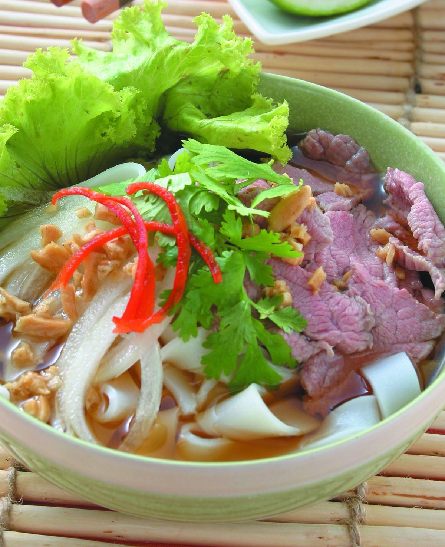 食譜:生菜牛肉河粉