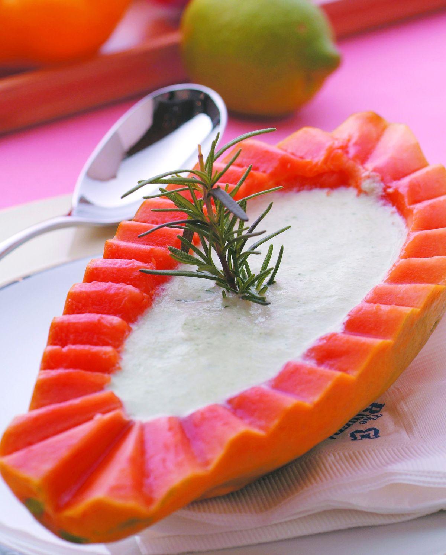 食譜:黃瓜奶油冷湯
